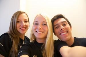 Marit, Dasha en Kay